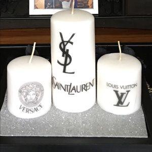 (3) Designer candles 🔥